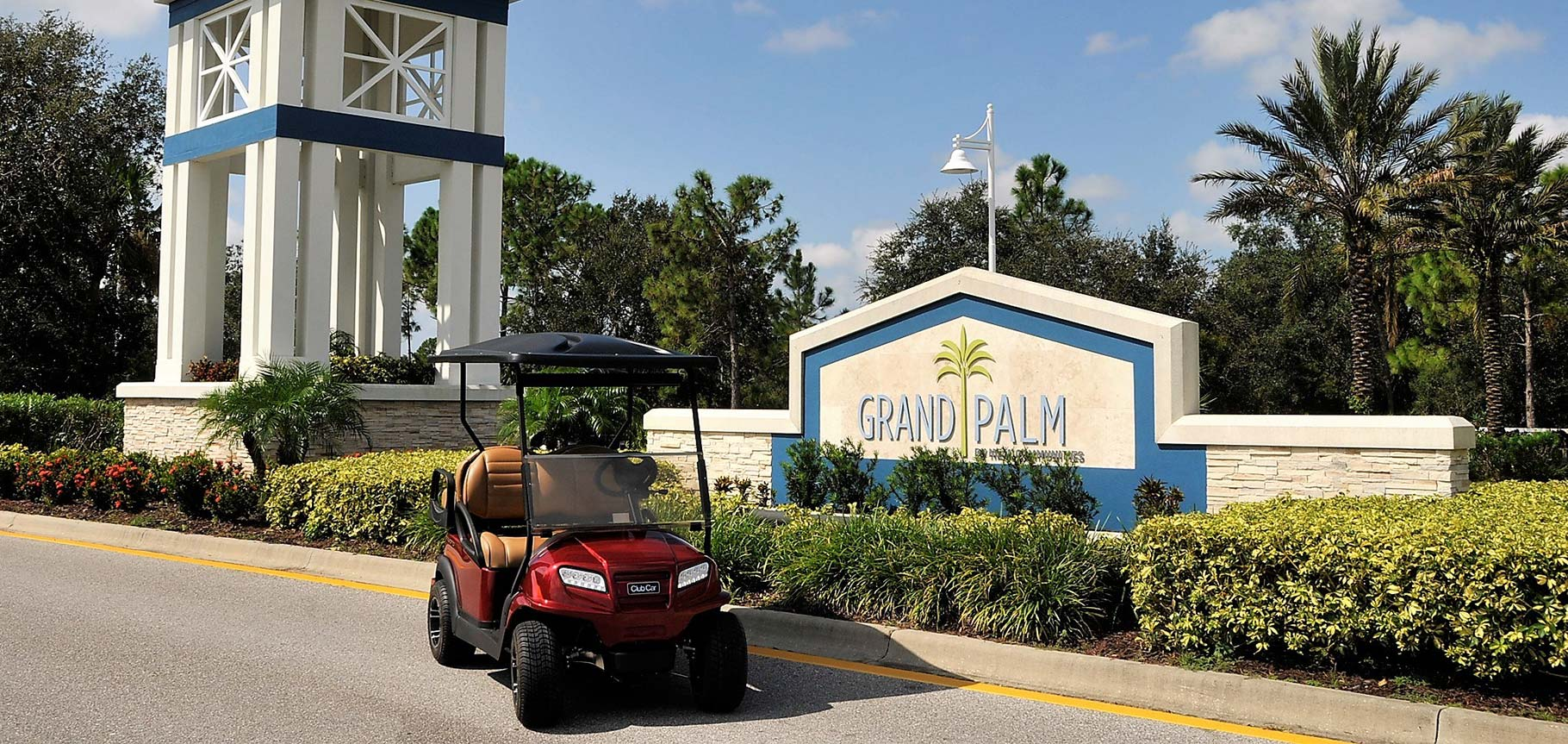 Grand Palm entrance sign image