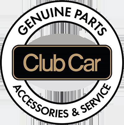 Club Car genuine parts logo image