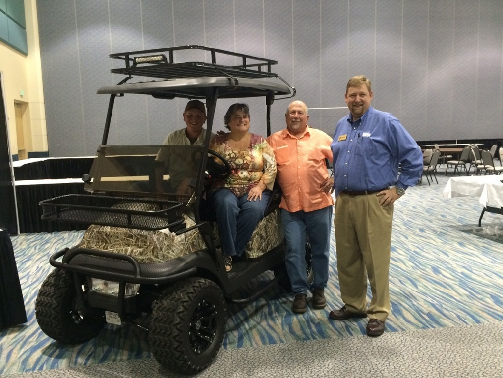 Camo golf cart image