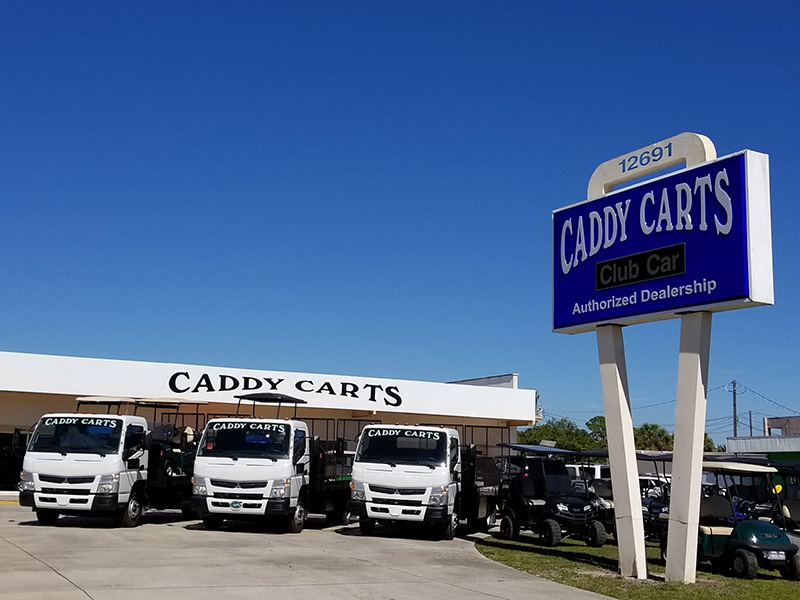 Caddy Carts entrance image